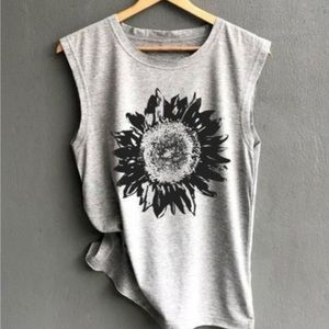 Sleeveless Sunflower Top🌻
